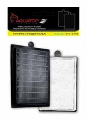 FORZA 25-40 Replacement Filter Inserts with Premium Activated Carbon