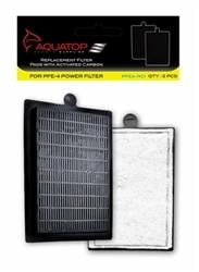 FORZA 25-40 Replacement Filter Inserts with Premium Activated Carbon.
