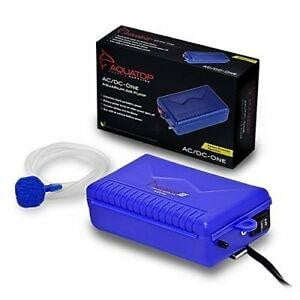 AQUATOP Battery Powered Air Pump w- AC Power Failure Sensor - Leaderpetsupply.com