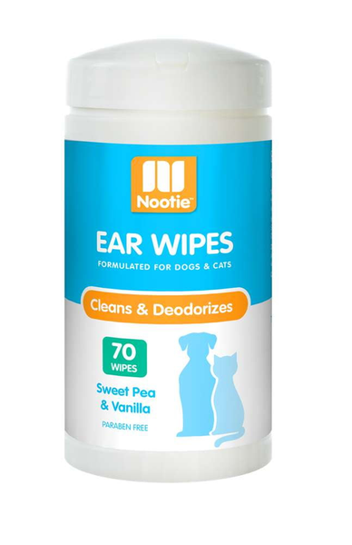 Nootie Ear Wipes Sweet Pea & Vanilla 70 Count