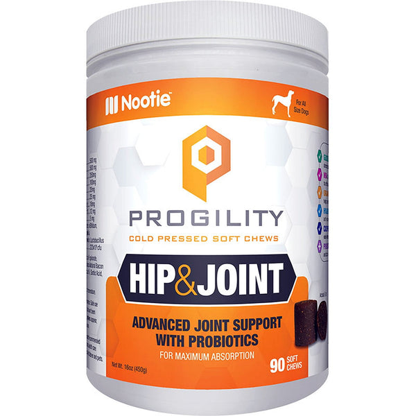 NOOTIE DOG PROGILITY MAX HIP & JOINT TURMERIC 90 COUNT.