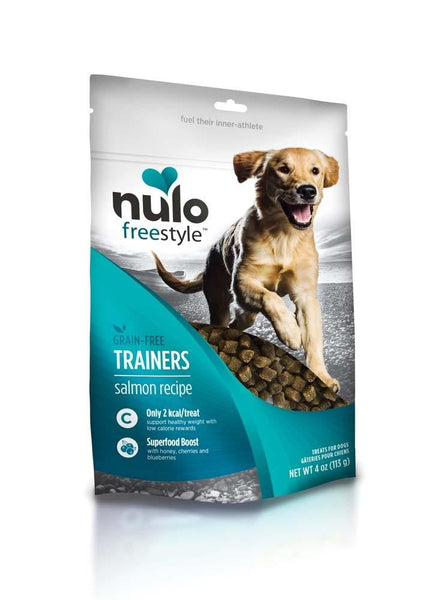Nulo FreeStyle Grain Free Salmon Training Treats 4oz.