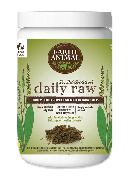 EARTH ANIMAL DOG DAILY RAW SUPPLEMENT 1LB.