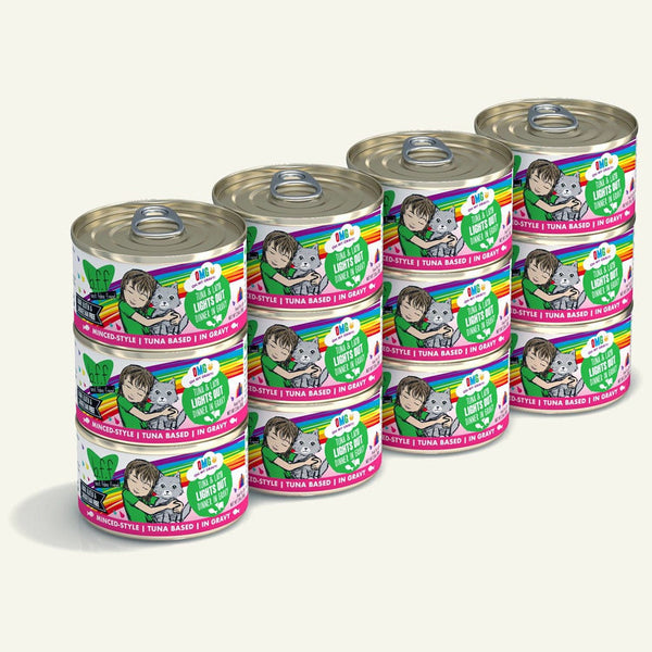 BFF Cat Omg Lts Out Tuna 2.8 Oz. Case of  24 (Case of  24).