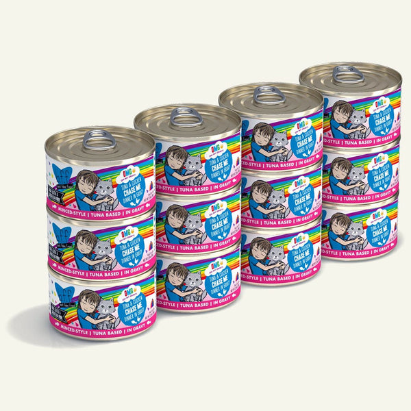 BFF Cat Omg Chase Me Tuna 2.8 Oz. Case of  24 (Case of  24).