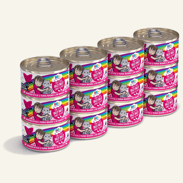 BFF Cat Omg Dilly Dall Tuna 2.8 Oz. Case of  24 (Case of  24).