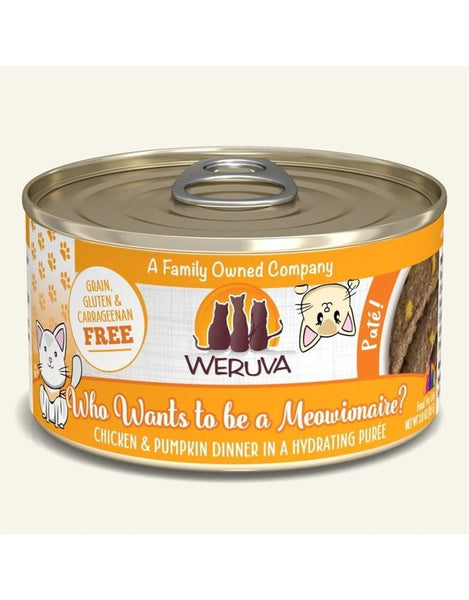 WERUVA CAT PATE WHO WANTS TO BE A MEOWIONAIRE 3OZ.