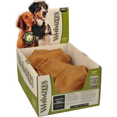 Whimzees Bulk Box Veggie Ear  18 Count.