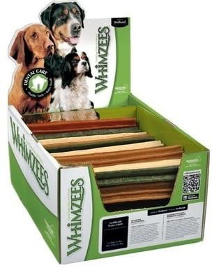 Whimzees Bulk Box Stix Medium 100 Count - Leaderpetsupply.com
