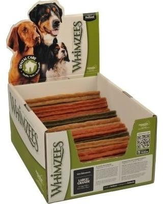 Whimzees Bulk Box Stix Large 50 Count - Leaderpetsupply.com