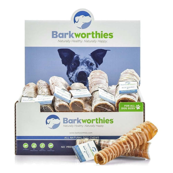 Barkworthies Beef Trachea - 06''   (SW) Sold As Whole Case Of: 12.