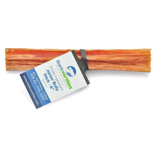 "Barkworthies Jr. Beef Stick 6""   Sold As Whole Case Of: 60."