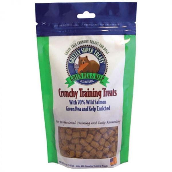 GRIZZLY DOG SUPER TREAT PEA KELP 5OZ - Leaderpetsupply.com