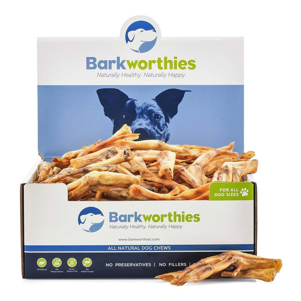 Barkworthies Duck Feet   Sold As Whole Case Of: 35.