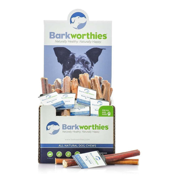 Barkworthies Bully Stick - 06''   Sold As Whole Case Of: 75.