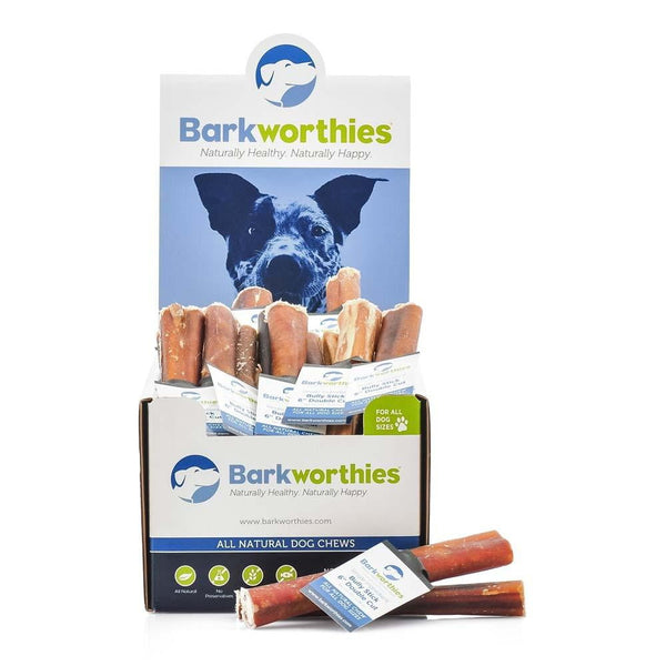 Barkworthies Bully Stick - 06'' Double Cut   Sold As Whole Case Of: 50.