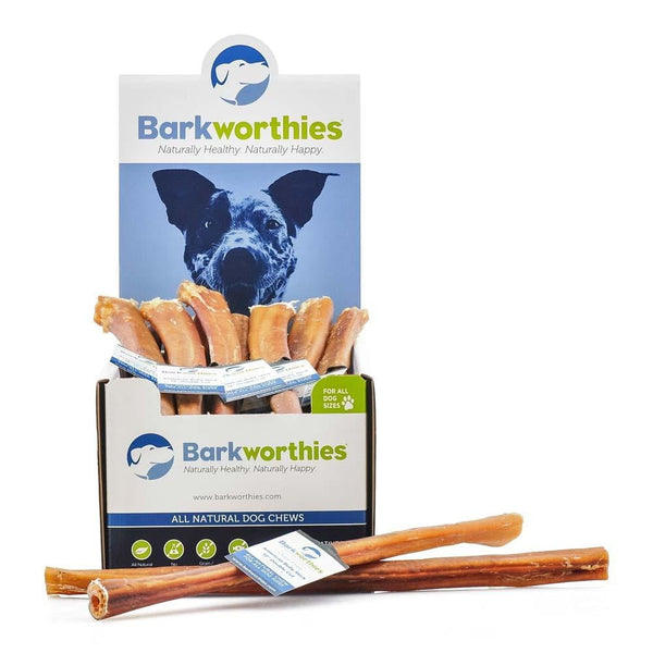 Barkworthies Bully Stick - Odor Free American Baked - 12'' Double Cut   Sold As Whole Case Of: 25.