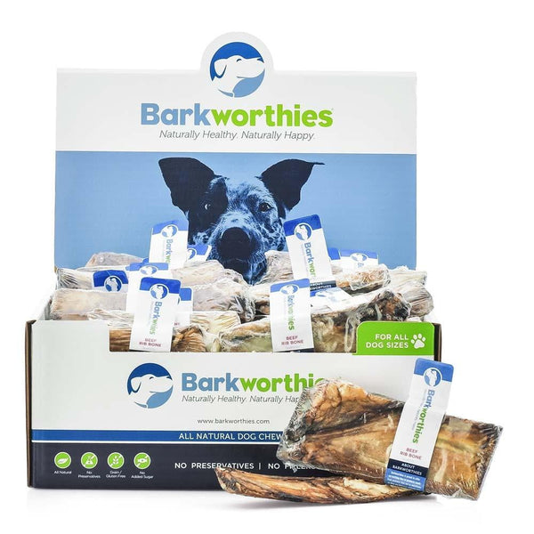 Barkworthies Beef Rib Bones   (SW) Sold As Whole Case Of: 25.