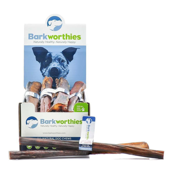 Barkworthies Bully Stick - Odor Free - 12'' Monster   Sold As Whole Case Of: 18.