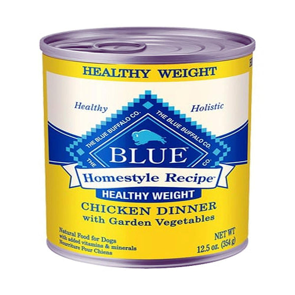 Blue Buffalo Dog Homestyle  Hw Chicken Vegetables12.5 Oz.(Case of 12  ).