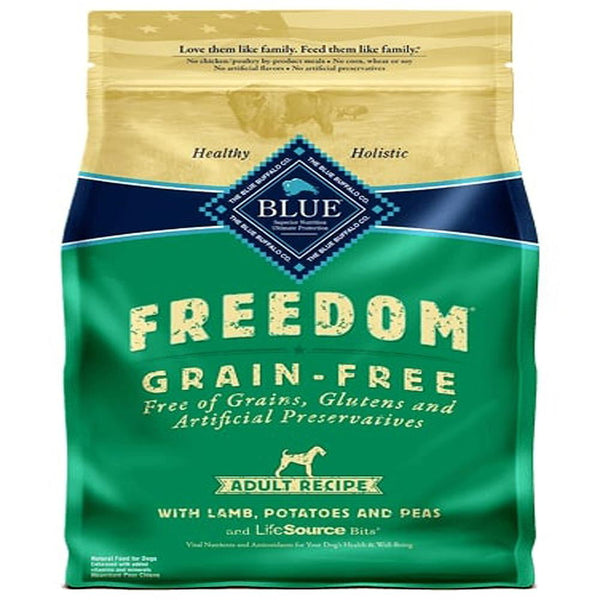 Blue Buffalo Dog Freedom Grain-Free  Lamb 24 Lbs..