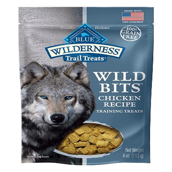 Blue Buffalo Dog Wilderness  Wild Bits Chicken  4 oz...