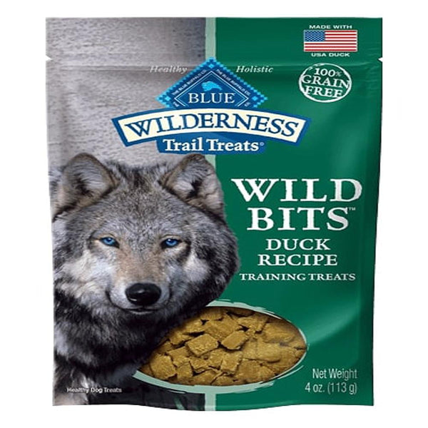 Blue Buffalo Dog Wilderness  GF Bits Duck 4 Oz..