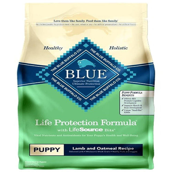 Blue Buffalo Dog Healthy Living Puppy Lamb Oat 6 Lbs