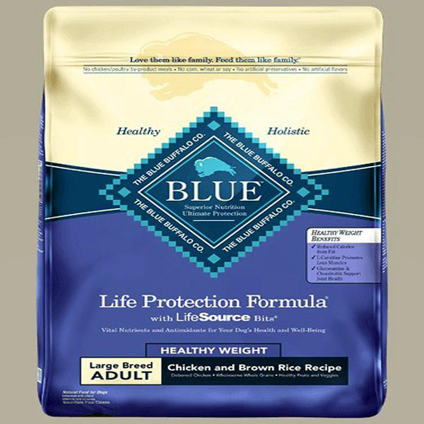 Blue Buffalo Dog Healthy Living Large Breed Hw Chicken Rice 30 Lbs.