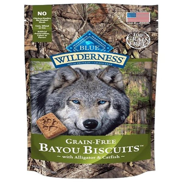 Blue Buffalo Dog Wilderness  GF Biscuit Bayou 8 Oz.
