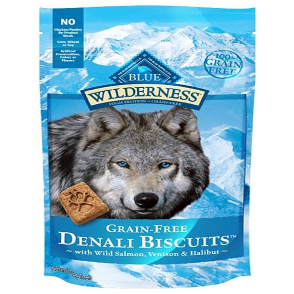 Blue Buffalo Dog Wilderness  GF Biscuit Denali 8 Oz.