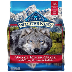 Blue Buffalo Dog Wilderness  GF Snake River 4 Lbs.