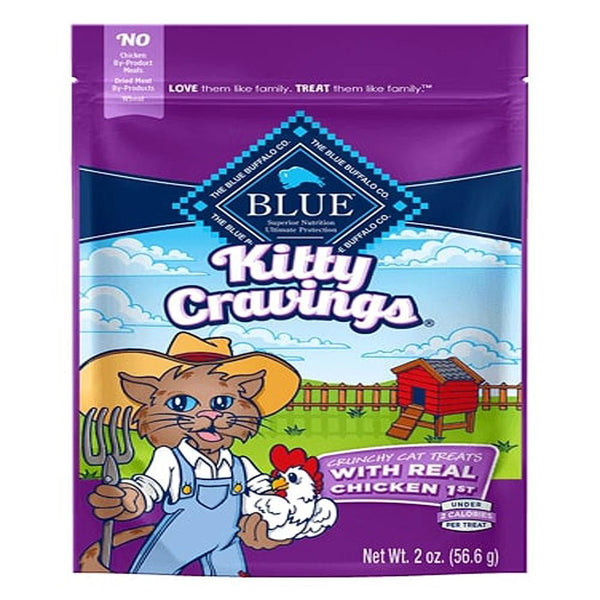 Blue Buffalo Cat Kitty Craving Crunchy Chicken 2 Oz. - Leaderpetsupply.com