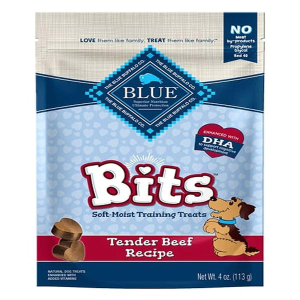 Blue Buffalo Dog Bits Beef 9 Oz..
