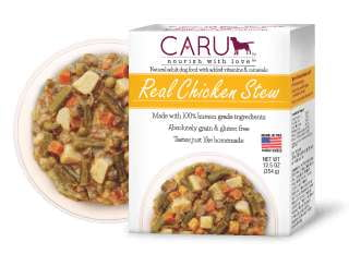 Caru  Dog Stew  Real Chicken 12.5oz. (Case of 12) - Leaderpetsupply.com