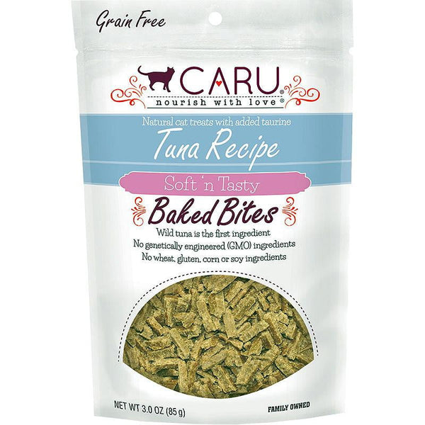 CARU CAT BITES NATURAL TUNA RECIPE 3OZ