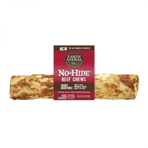 Earth Animal No Hide Chews- Beef 11 Inch (12count Box).