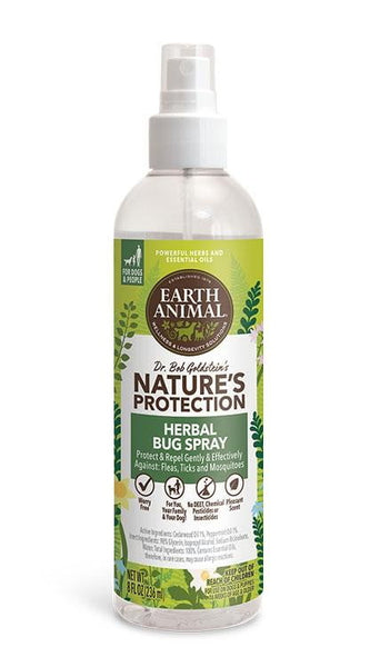 Earth Animal  Dog Nupro Bug Spray Herbal 8oz.