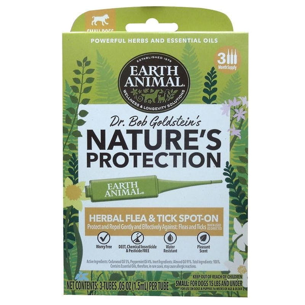 Earth Animal  Dog Nupro Spot-On  Flea and Tick Small.