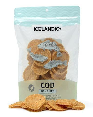 Icelandic+ Fish Treat - Cod Fish Chips  Single Bag.