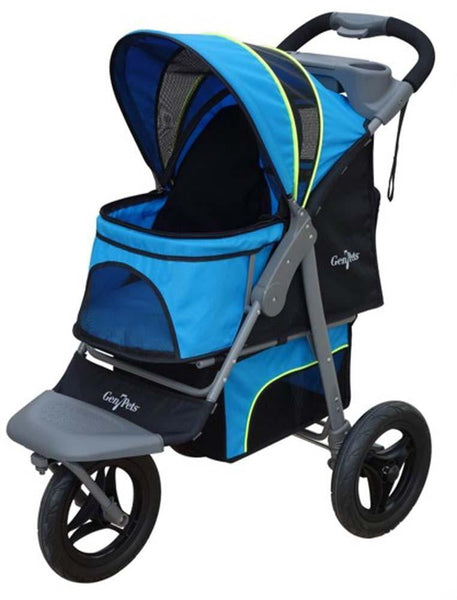 Gen7Pets Jogger Pet Stroller Trailblazer Blue.