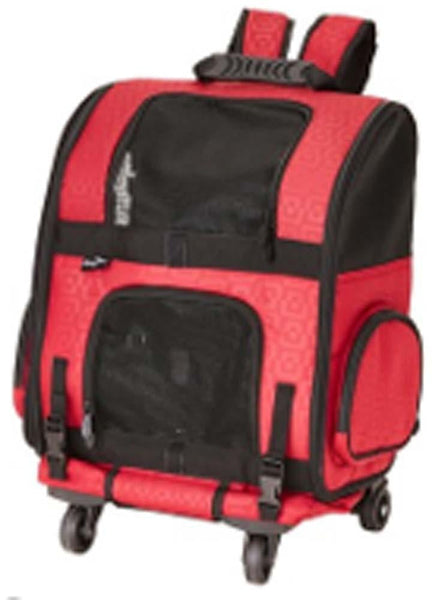 Gen7Pets Roller-Carrier Red Geometric Large.