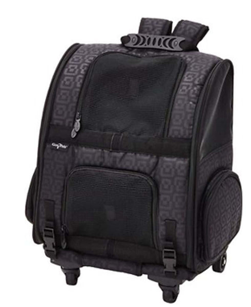 Gen7Pets Roller-Carrier Black Geometric Medium.