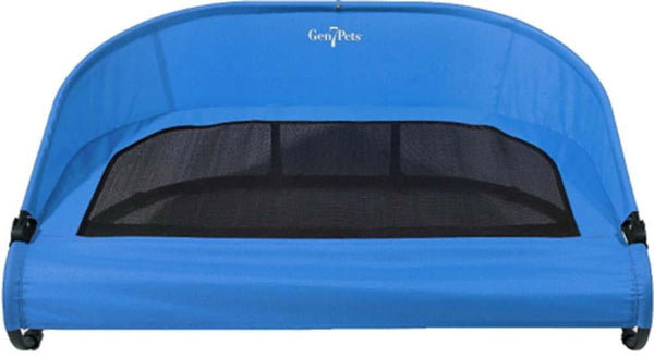 Gen7Pets Cool-Air Cot Trailblazer Blue Large.