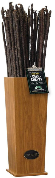 Etta Says! Dog Crunch DEER Chew Stick  3'  (18 Count).