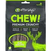 Etta Says! Dog Chew Crunchy ELK 4.5 oz..