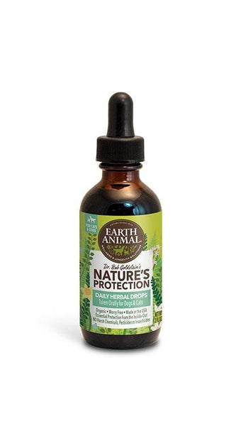 Earth Animal Flea and Tick Program Herbal Drops for Dogs 2oz.