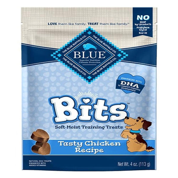 Blue Buffalo Dog Bits Chicken 4 Oz..