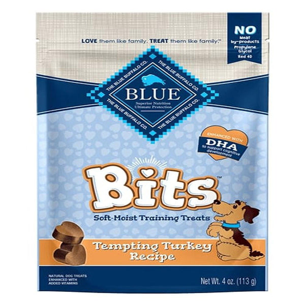 Blue Buffalo Dog Bits Turkey 4 Oz..