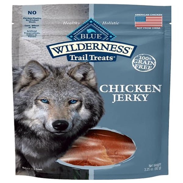 Blue Buffalo Dog Wilderness  GF Jrky Chicken 3.25 Oz.